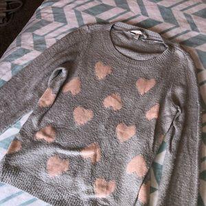 Lauren Conrad grey sweater